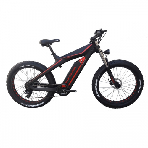 Wide tires Electric Bike electric snow bike for Snow Road