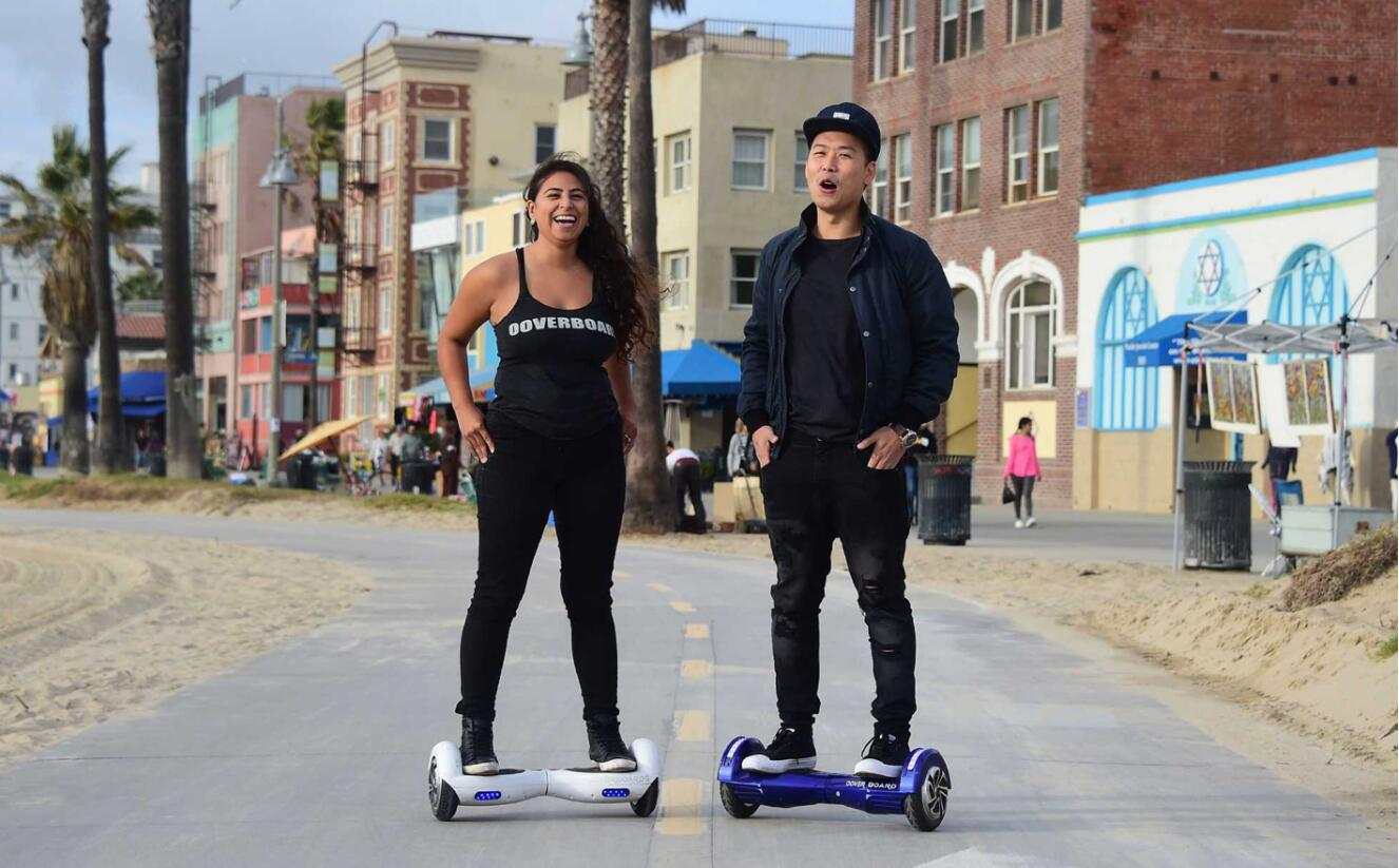 jifi Hoverboard with Off Road Tire A14