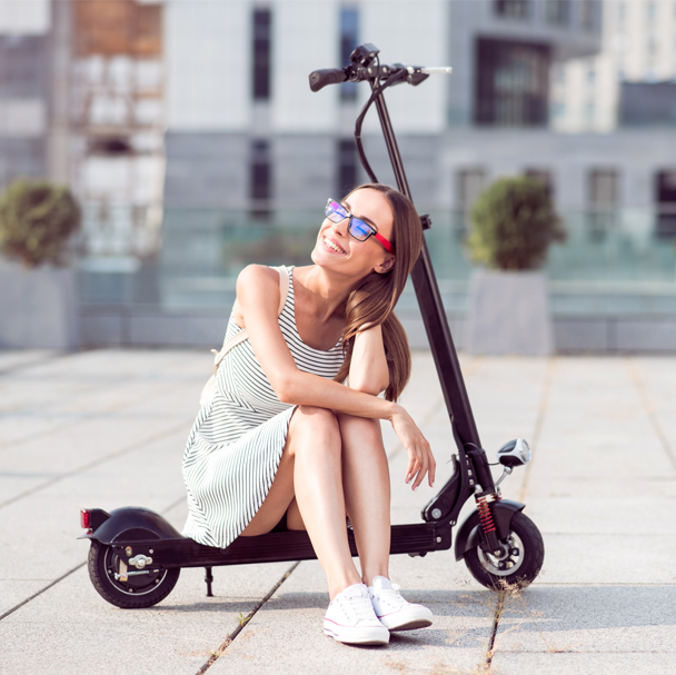 The demand for electric scooters will increase continuously